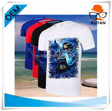 Contemporary promotional promotional v shape t shirt
