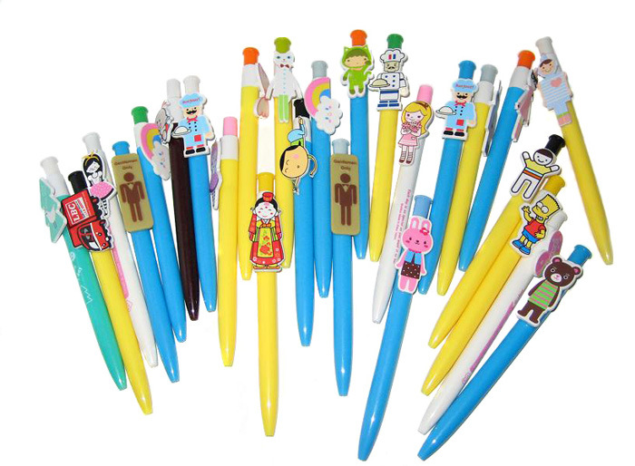 Promotional Cartoon Plastic Ball Pen Ball Point Pen