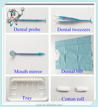 dental consumables items medicla value dental kit 6 in 1