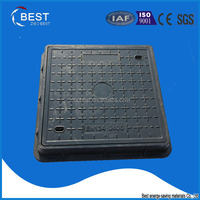 600 square GRP FRP concrete sewer cover en124
