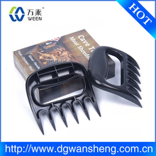 Meat Shredding Claws,Meat Handler Forks, Silicone BBQ Glove with BBQ Meat Claw