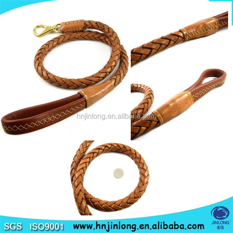 High Quality Dog Products Braided Rope Dog Leash Wholesale Leash