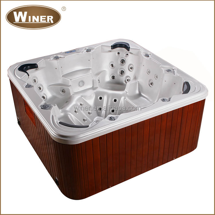 european lates design balboa hot tub aristech acrylic massage and spa for 6 persons buy. Black Bedroom Furniture Sets. Home Design Ideas