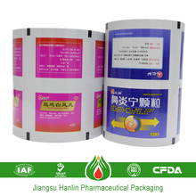 capsule pharmaceutical pack aluminum foil chemical composition