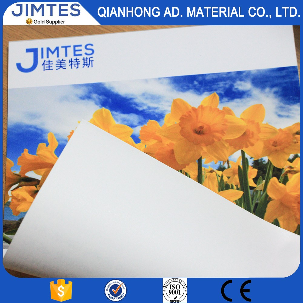 "JIMTES 44"" *30m large format inkjet printable blank stretched pre printed canvas"