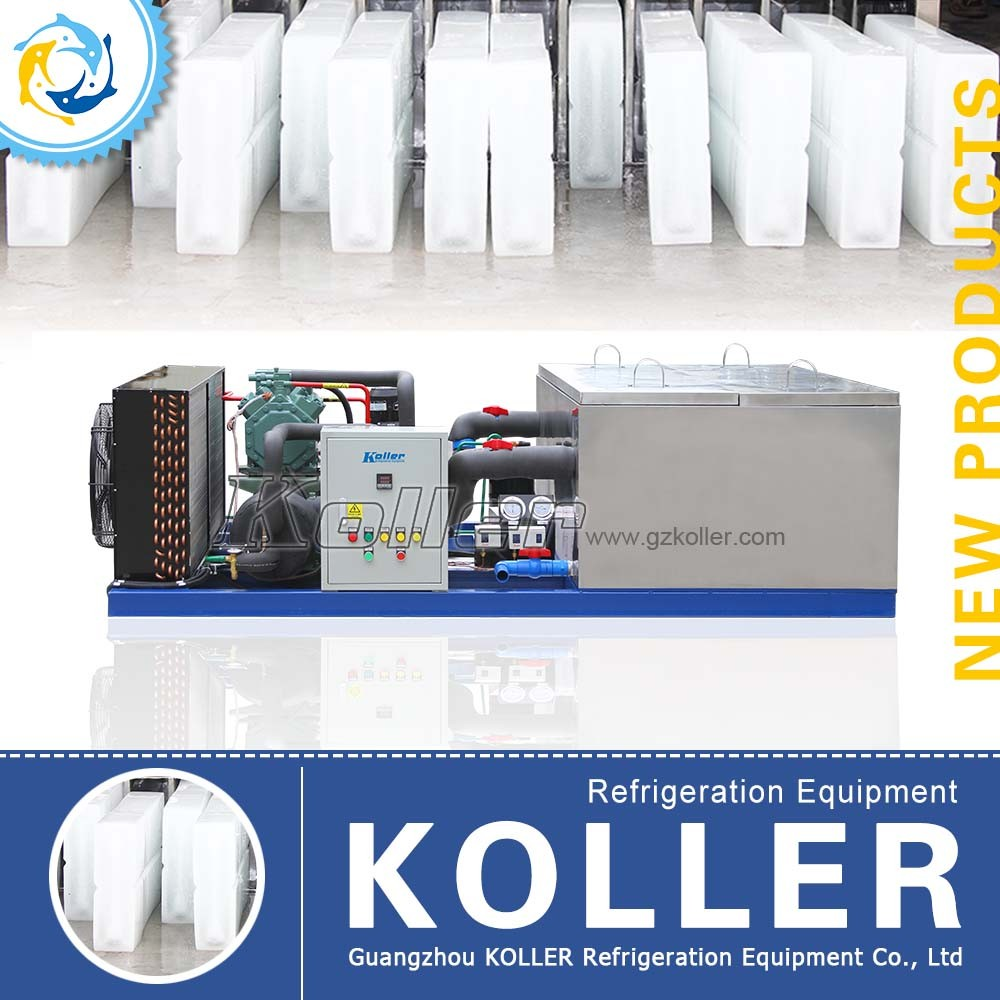 Koller 1000kg/day Ice Block Machine in Hot Area (MB10)