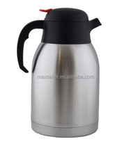 Hot selling double wall Stainless steel vacuum flask /Thermos Bottle/Coffee Pot with 1.5L ,1.8L,2.0L,