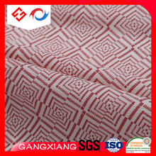 T400 Jacquard 50D Polyester Fabric Printing spandex Wrinkle waterproof fabric