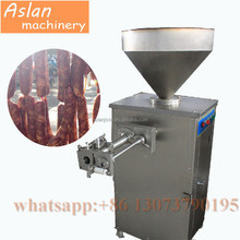 natural casings sausage making twisting machine for sale / sausage filler twister all-in-one machine