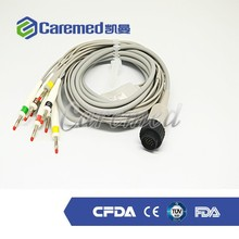 Compatible medical 10 lead ecg cable for Kenz 103,106 CARDIOLINE