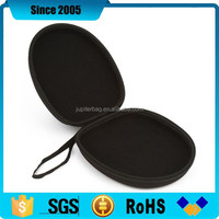 top quality portable eva headphone case bag with wrist tape