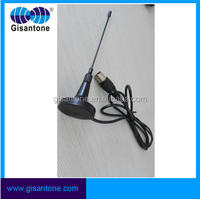 Factory Uhf Magnetic Mount Antenna for DVB-T Wireless TV System With RG 174