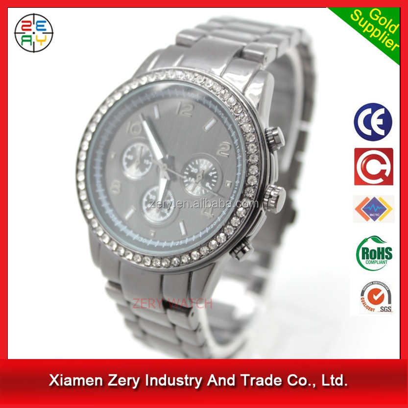R0482 hot selling in China diamond watch,diamond bezel japan movt watch prices