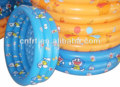 Cheap Durable EN71 ASTM baby inflatable swimming pool 3 ring plastic bath pool for kids