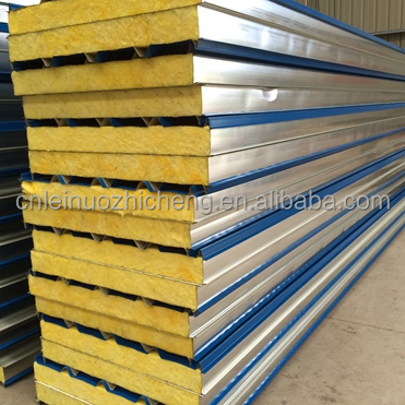 fire resistance mineral wool sandwich roof panel