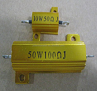 RX24 Gold Aluminum Housed High Power Wirewound Resistor