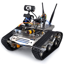 Wireless Wifi Robot Car Kit for Hd Camera Ds Robot Smart Educational Robot Kit for Kids