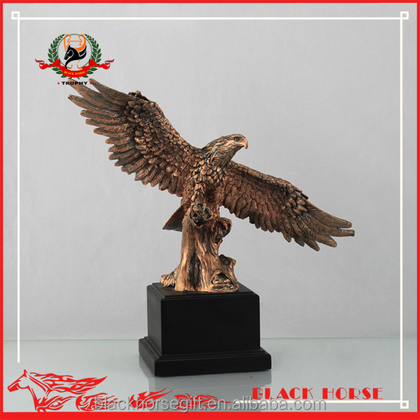 2016 most popular metal awards eagle resin statue arts