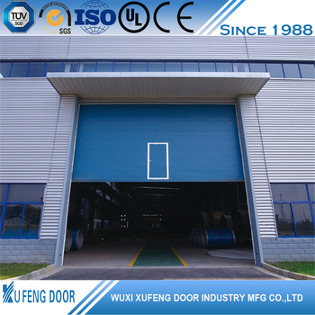 Wholesale Customer 5 Panel Sectional Industrial Movable Doors Manufacturers