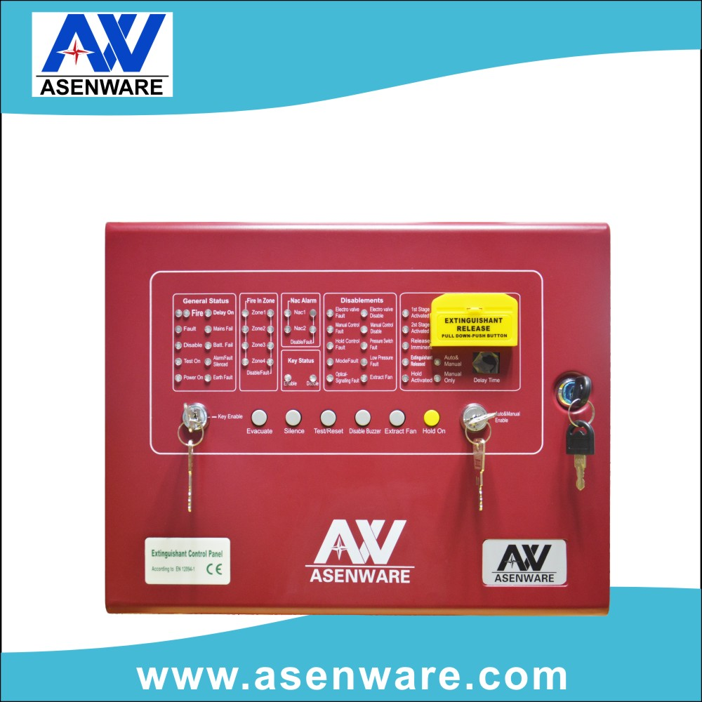 LPCB approved fire and gas control panel