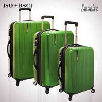 Hot new products for 2016 PC inflatable hard suitcase sets