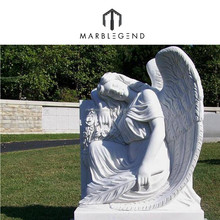 2016 Chinese Unique Design Carving Marble Headstone Prices