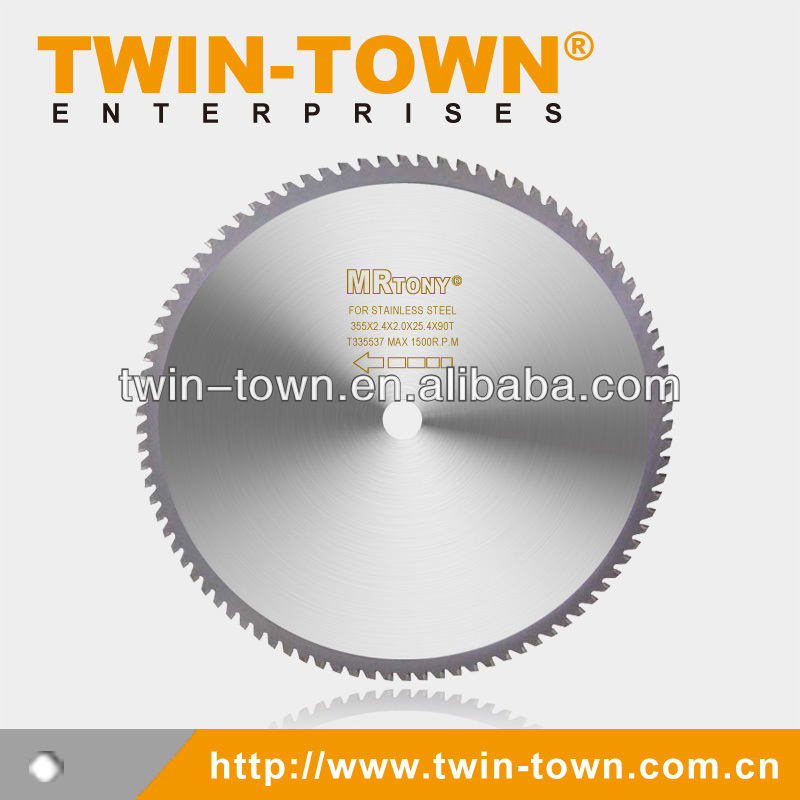 Cermet Tipped Saw Blades for Cold Circular Saw