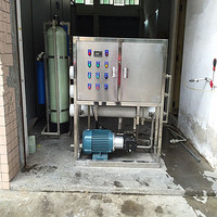 Deep well water desalination machine for drinking