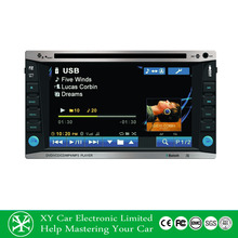 6.2 Inch 2 din car gps for opel vectra , Double Din Car DVD Player XY-D1262