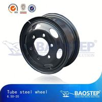 BAOSTEP Factory Direct Price Tuv Certified Tractor Steel Wheels For Rice Farming