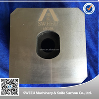 Hot Sale Single Shaft Shredder Blade/Knife For Plastics With Nice Price