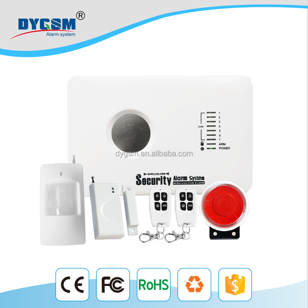 2017 Phone APP wifi alarm system Wireless KERUI W2 Wifi GSM PSTN line telephone alarm system suit wifi ip camera RFID disarming
