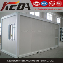 China 20ft Flat Pack Container House Modular Home