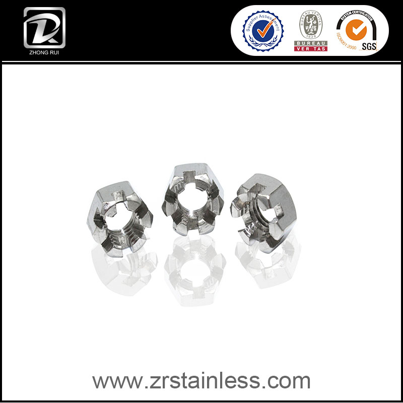 Stainless Steel Hexagon Slotted And Castle Nut DIN 935