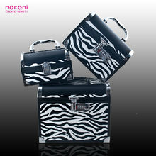noconi high quality chinese makeup box PUleather box Password case cosmetic