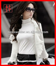 Japanese style lady sweater fancy shrug