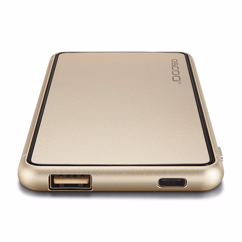 OSCOO Luxury power bank rose gold color high quality Efficiency above 95%