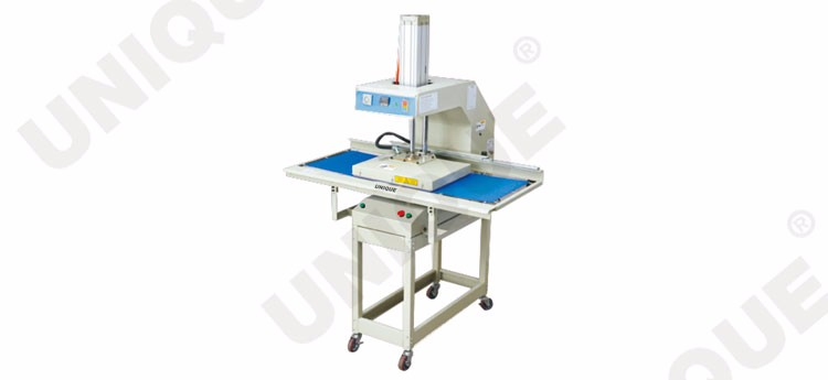 UN-6238-T fully-automatic heat transfer press machine with sliding table