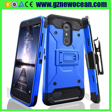Hybrid Heavy Duty Armor case Robot Combo Belt Clip phone case for ZTE Z963U imperial max