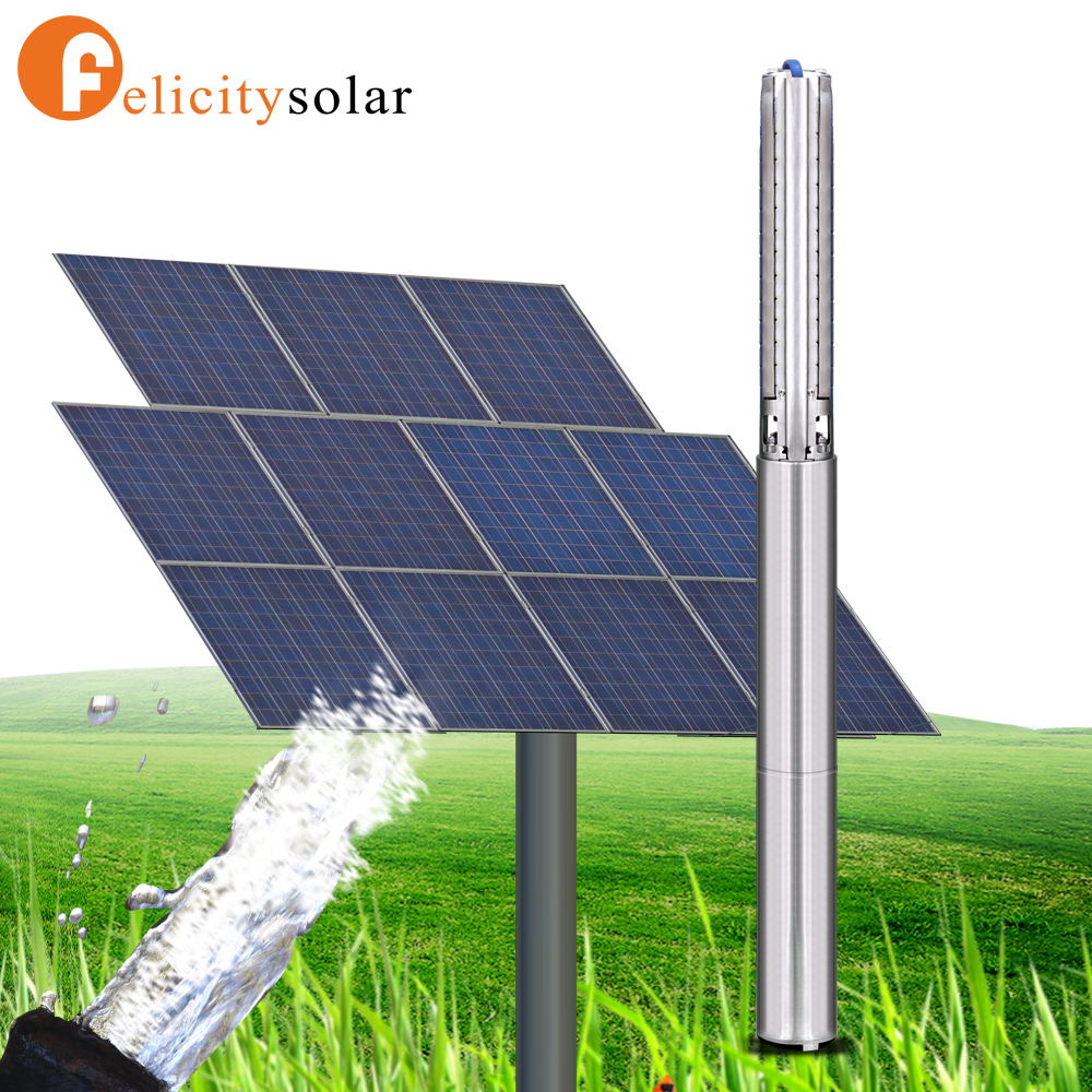 Best price 3000w solar submersible water pump for swimming pools