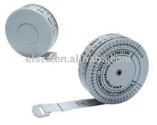 BMI - Body Mass Index - tape measure