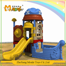 Sports equipment fun games park pirate ship theme kids outdoor playground new product