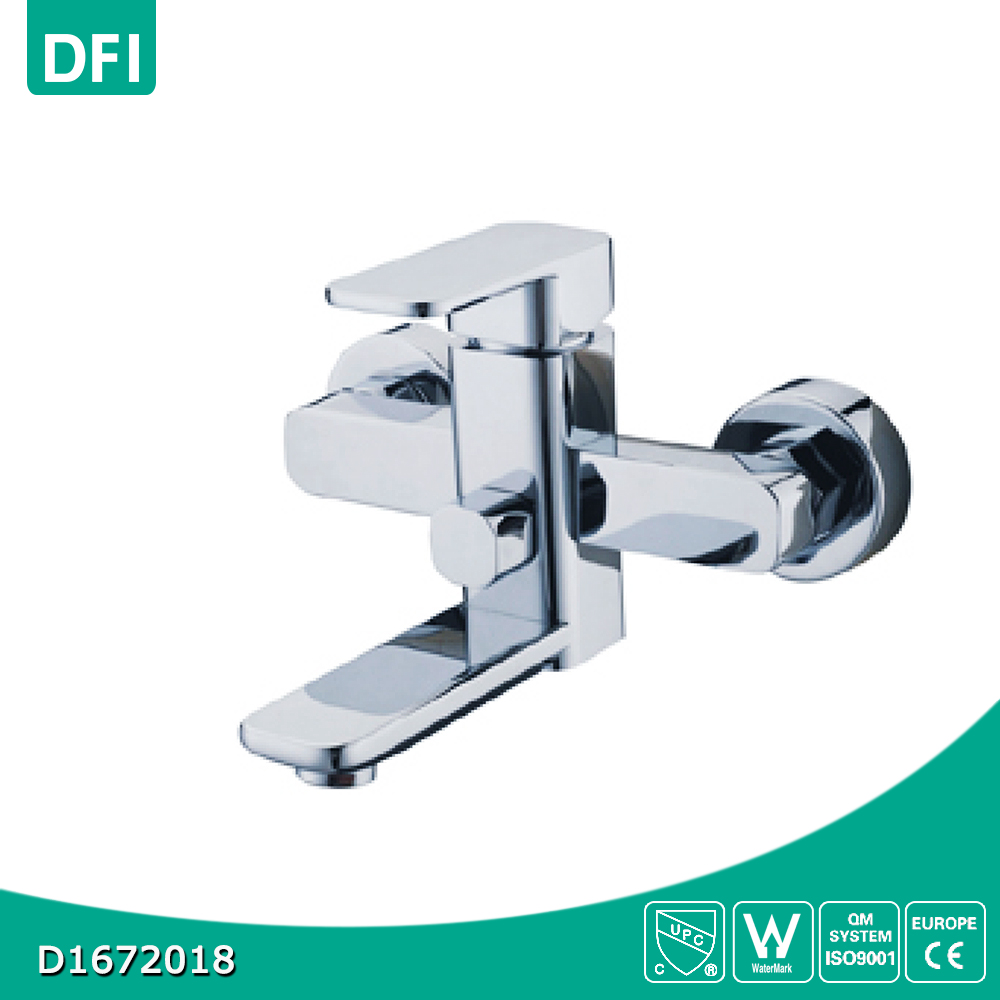 Single lever shower mixer faucet wall mounted bath taps