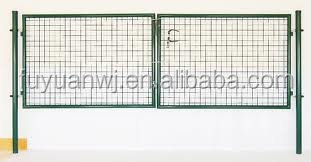 Good selling high quality security gate for patio doors/metal garden gate