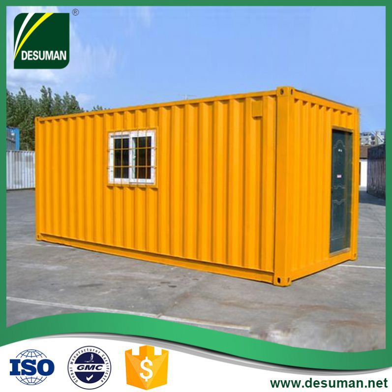 DESUMAN best selling products leisure style environment protection 20feet container house