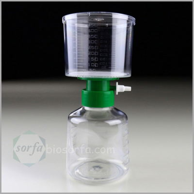 lab disposable plastic vacuum filtration system vacuum filter system