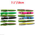 Wholesale Trolling Lure Skirts Soft Plastic big Squid Skirts Fishing Lure 30cm 35cm