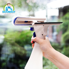 Boomjoy Glass Window Cleaner Plastic Glass Wiper Window Cleaning Brush Car Window Cleaner