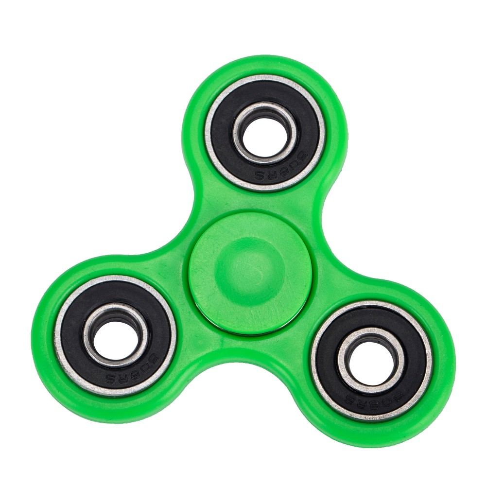 608 hybrid bearings toy silicone finger gyro fidget LED hand spinner