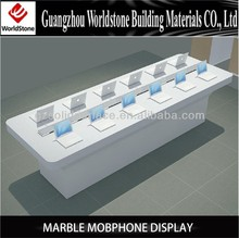 2014 marble mobiphone display/computer kiosk booth